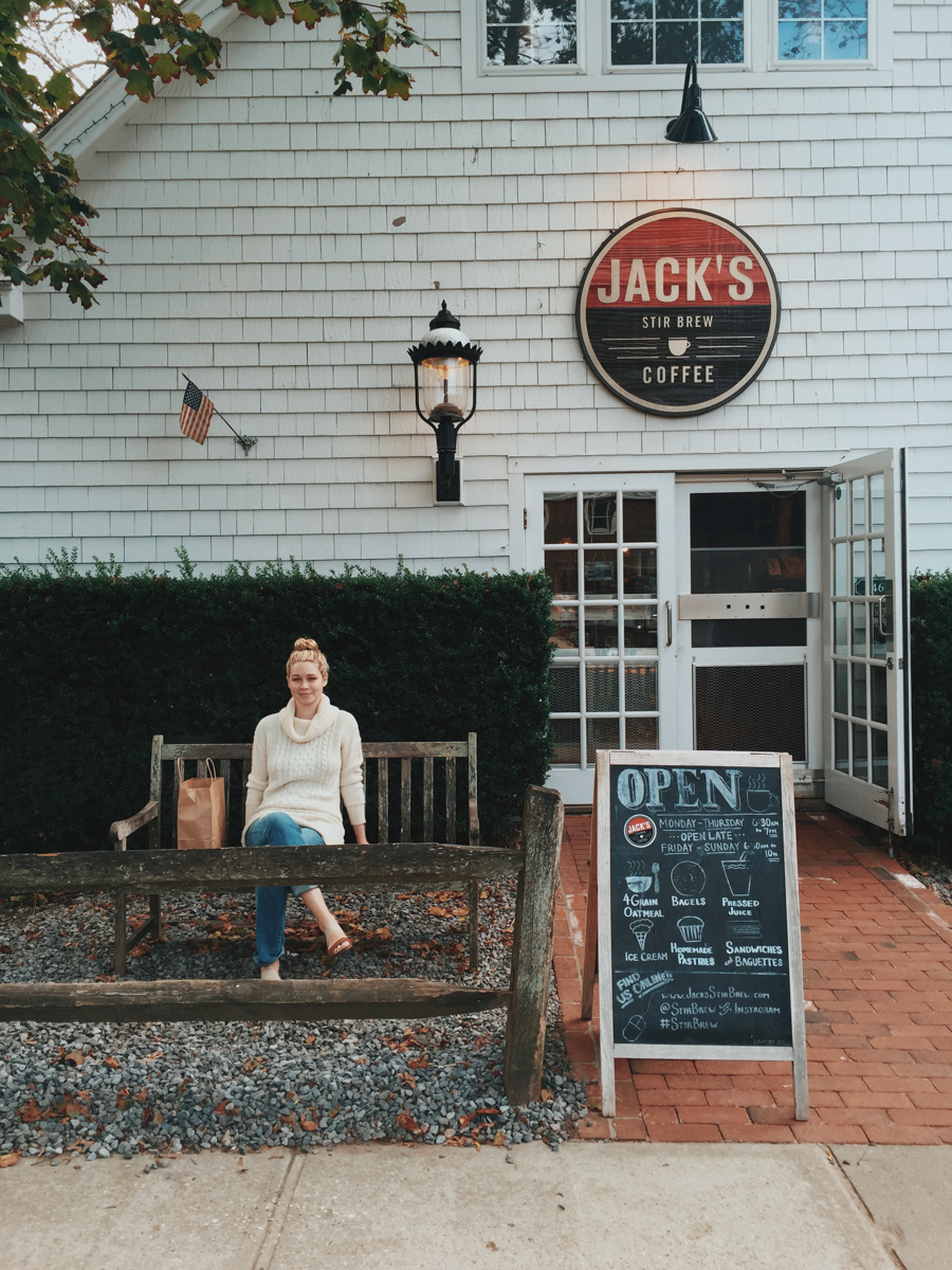 Jack's Stir Brew for coffee and donuts in Amagansett