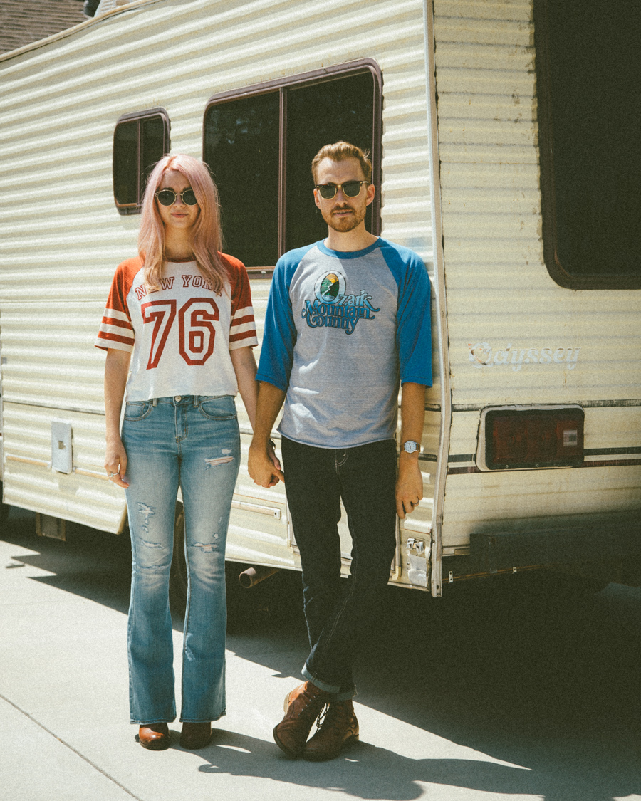 2013 - Us in front of our RV
