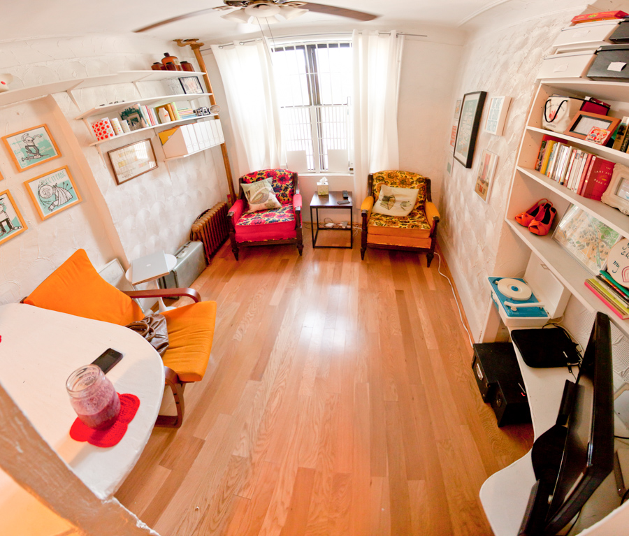 2010 - Our second NYC apartment. Probably our fav.